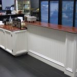 Custom Wainscot & Counters by Klaus Stoermer in SF