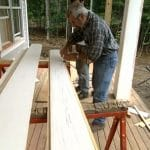 Tapered Column Wraps on Bob Vila Vermont Farmhouse Project