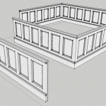 Wainscoting for Sketchup Users