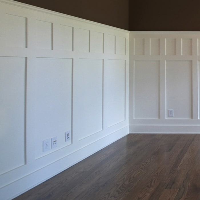 Wainscoting Craftsman Style Contrast Windsorone