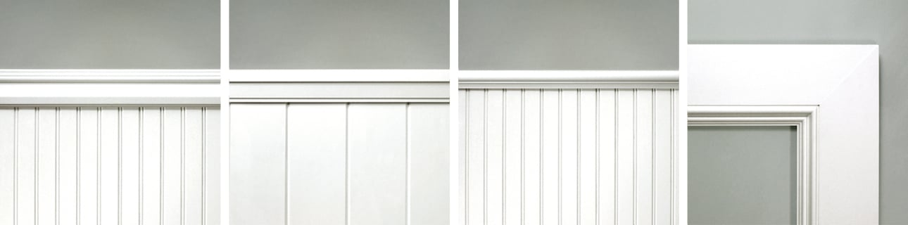 Wainscot Caps & Panel Molding