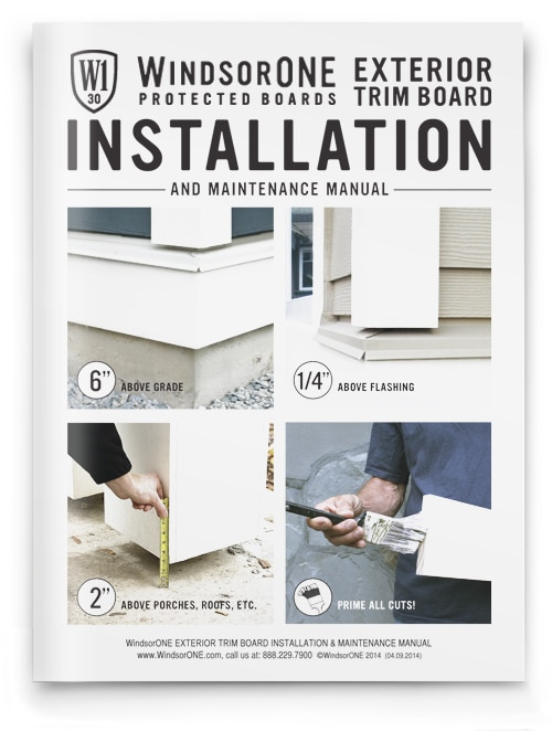 WindsorONE - Installation Instructions