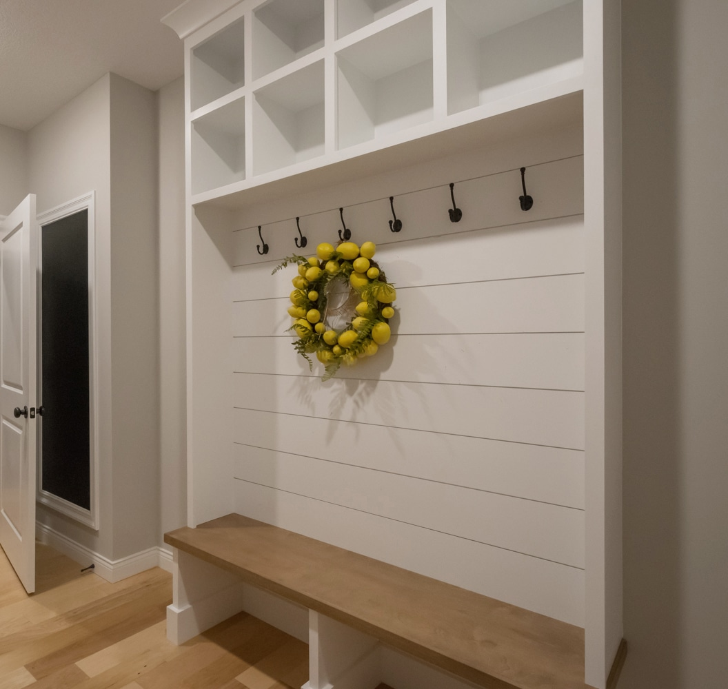 Built Ins Dressed Up With Shiplap Windsorone