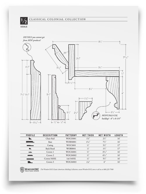 Dimensioned Drawings