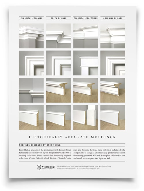 Classical Craftsman Moldings 20th Century Style Windsorone