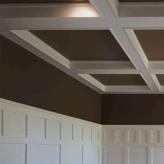 Coffered Ceilng With Contrast Windsorone