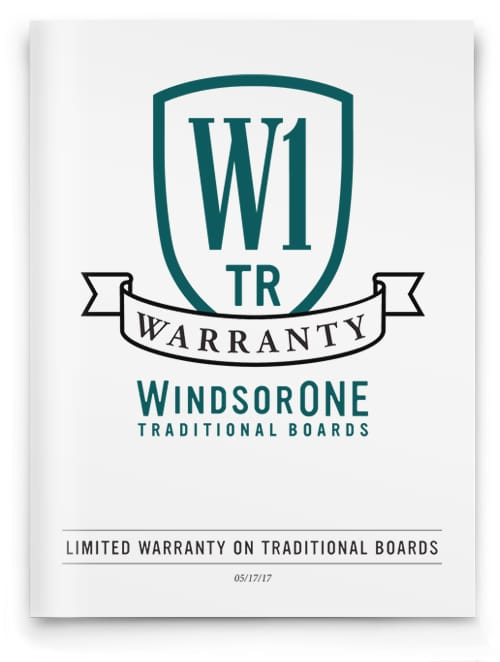WindsorONE - Traditional Warranty