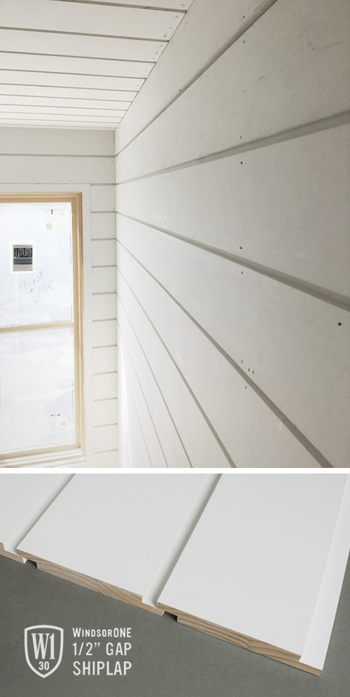 Wide Gap Shiplap Windsorone