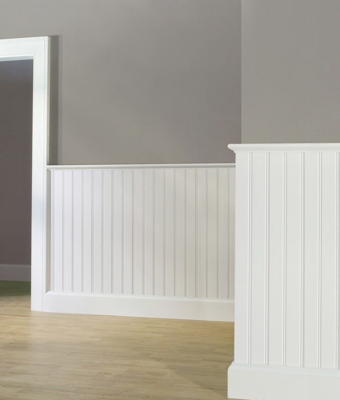 The Living Room W1: Wainscoting In Room
