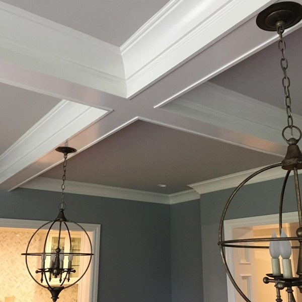 Colonial Revival Coffered Ceiling Windsorone