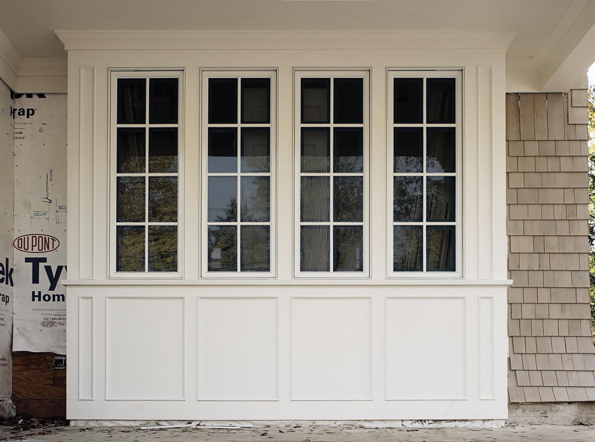 Exterior Bay Window Trim - WindsorONE