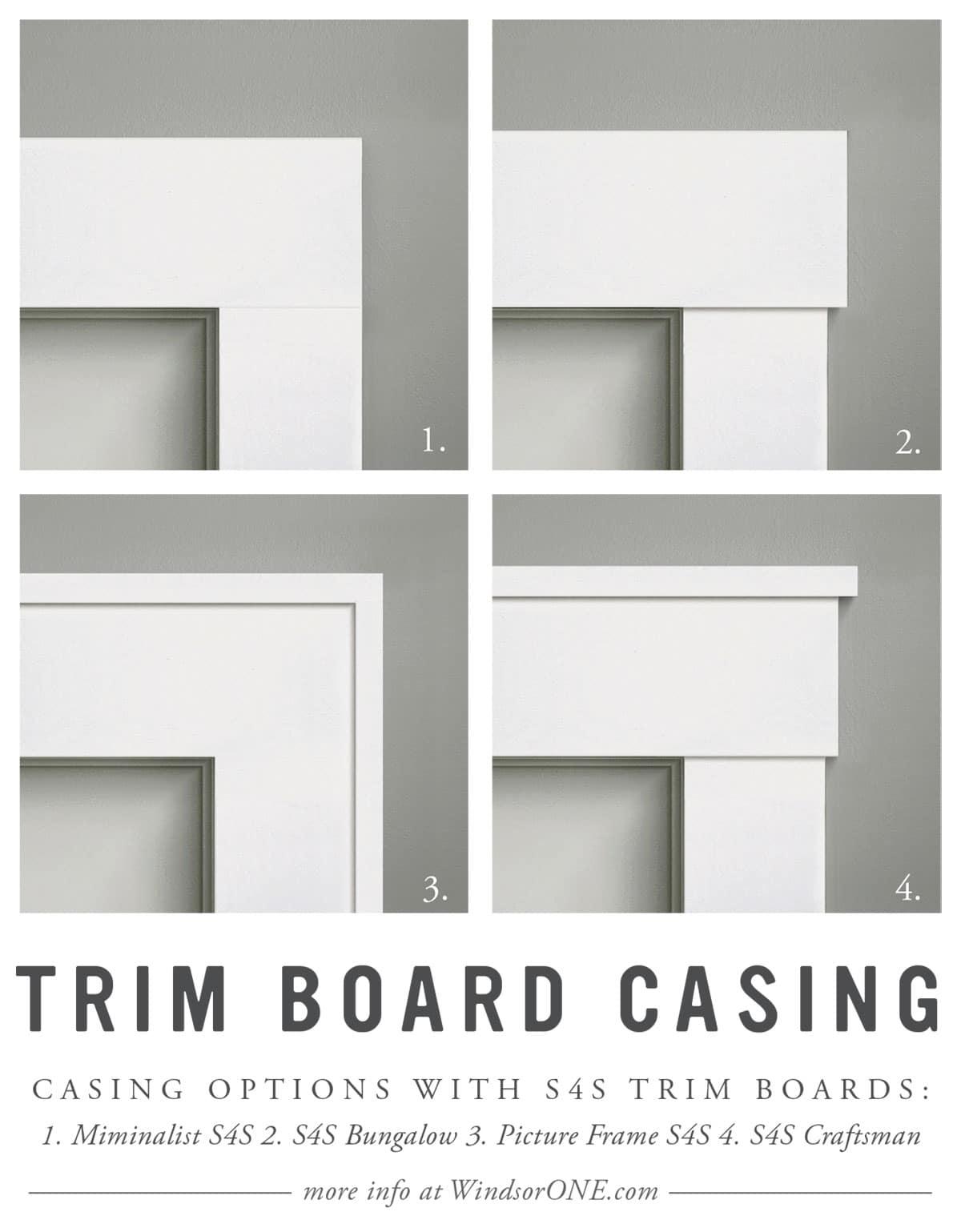 S4s Craftsman Door Trim